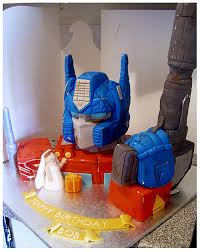optimus prime cakes optimus prime cake by cakerific on deviantart