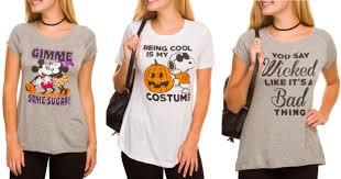 walmart com women u0027s halloween t shirts starting at 3 50 u2013 hip2save