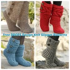 www drops design drops design free knit slipper patterns wee folk