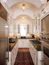 Tiny Galley Kitchen Design Ideas Cozy Small Galley Kitchen Ideas With Nice Rugs Galley Kitchen