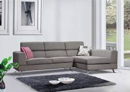 Gray Microfiber Sectional Sofa by Furniture Gray Microfiber Sectional Sofa With Chaise And Backrest