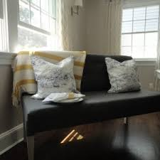 Settee Bench Cushion Decor U0026 Tips Amazing Settee Bench With Cushion For Decorate Home