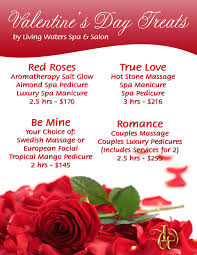 valentines specials nail salon living waters day spa s
