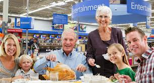 now you can eat thanksgiving dinner at walmart satirewire dot