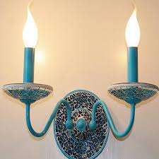 Mediterranean Wall Sconces Decorative Mediterranean Blue Up Light Wall Sconces Save Lights Blog