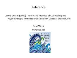 Corey Counselling Theory And Practice Counselling Level 3 Week 18 Comparing Different Counselling
