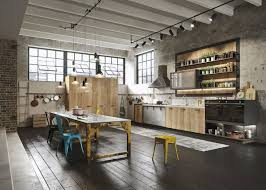 industrial kitchen designs applied with fashionable decor ideas