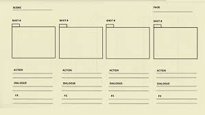 animation storyboard template 8 free word excel pdf ppt