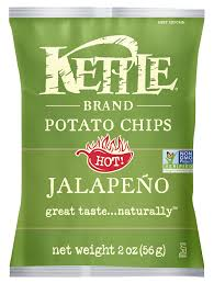 amazon com kettle brand jalapeno chips 2 ounces pack of24