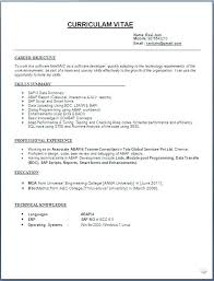 proper format of resume proper resume format exles resume format exles application