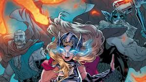 jane foster is teaming up with the odinson and the new ultimate