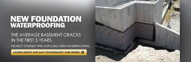 buffalo ny concrete new foundation u0026 basement waterproofing