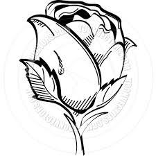 cartoon rose vector illustration by clip art guy toon vectors