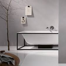 Bette Bathtubs Bette Lux Shape Frame For Bath L 170 W 75 Cm Matt Black Fine