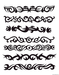 tribal armband tattoos3 tattoosdesigns more designs at
