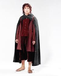 Hobbit Halloween Costume Merry Cloak Screen Costumes Cloaks Lord