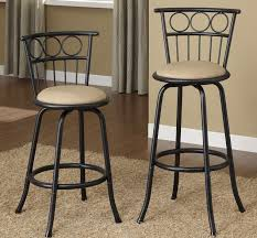 24 Inch Chairs With Arms Poundex F1433 Adjustable Barstool 24 Inch To 29 Inch Seat Height