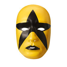 randy orton halloween costume stardust black gold plastic halloween party wwe mask ebay