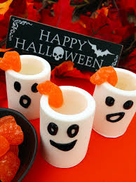 edible ghost shot glasses with marshmallow infused white rum msg