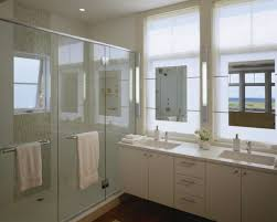 Bathroom Vanity Heights by Combination Of Modern And Vintage Style In Floating Bathroom
