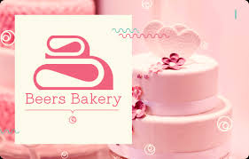 wedding cake logo beers bakery logo design study pugmarker