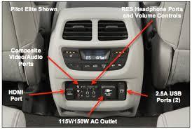 honda pilot audio system 2016 honda pilot audio and connectivity honda