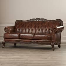 Omni Leather Furniture Camelback Leather Sofa Tehranmix Decoration