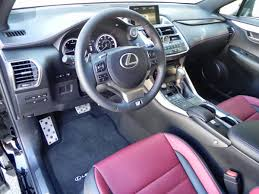 lexus nx f interior 2015 lexus nx 200t f sport is all new fun and the perfect