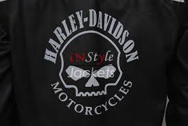 black motorcycle jacket harley davidson willie g reflective skull black jacket