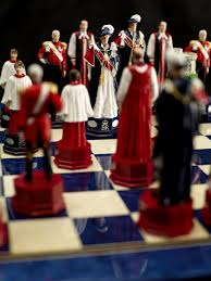 cool chess sets chessbaron hand painted queens diamond jubilee c