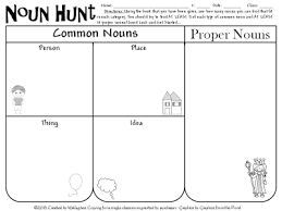 all things upper elementary we u0027re going on a noun hunt reading