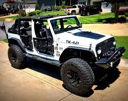 2012 jeep wrangler rugged ridge xhd wheel rough country suspension