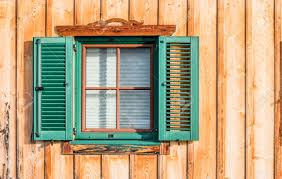 window blinds and shutters symbol of protection and isolation