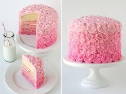 pink ombre swirl cake u2013 glorious treats
