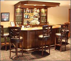 Building Cozy Basement Bar With These Dwelling Bar Structure