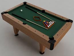 pool table 3d cgtrader