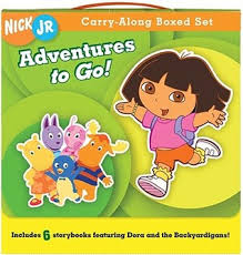 adventures carry carry boxed storybooks