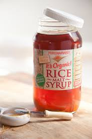 rice malt syrup the scoop the natural nutritionist