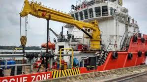 Pedestal Crane China Electric Hydraulic Crane Pedestal Crane Marine Crane China