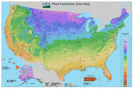 Jacksonville Florida Zip Code Map Planting Zones For The U S And Canada The Old Farmer U0027s Almanac