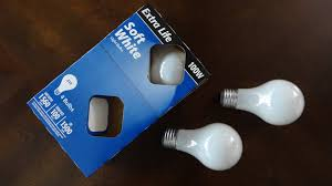 Walmart Led Light Bulbs by Walmart 100watt Soft White Incandescent Light Bulbs Youtube