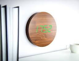 wall clocks responsive digital wall clocks digital wall clock