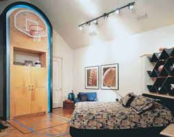 sport authorities teen bedroom decorating idea sports