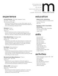 good resume for accounts executive responsibilities for marketing jd templates digital marketing resume exle cover letter