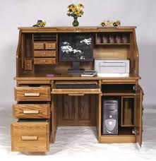 Computer Secretary Desk With Hutch by The Flexibility Of Roll Top Computer Desk Signin Works
