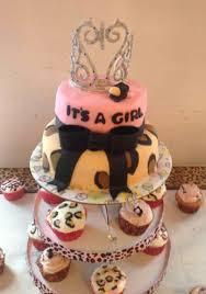animal baby shower cakes for girls cheetah print print diaper cake