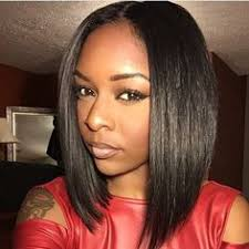 Bob Hairstyle With Part Down The Middle | malaysian straight straight hair hair extensions and weave hairstyles