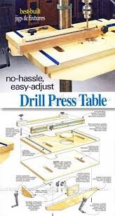Woodworking Plans For Small Tables by Best 25 Drill Press Table Ideas On Pinterest Drill Press Small
