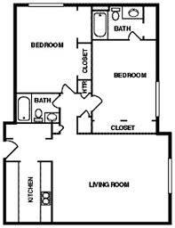 simple house plan with 2 bedrooms decorate my house