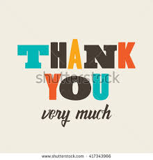 Thank You Card Designs Thank You Card Poster Stock Vector 146585774 Shutterstock